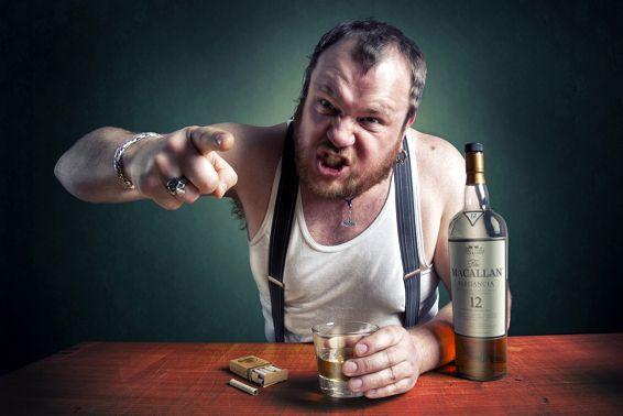 яростный алкоголик