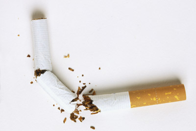 сломанная сигаретта