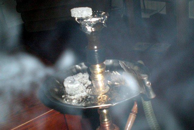дым кальяна